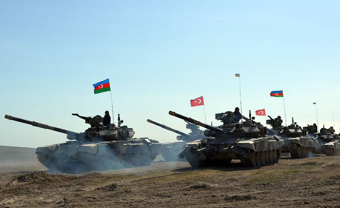Azerbaijan And Turkey Conduct Large Military Exercise In Nakhchivan